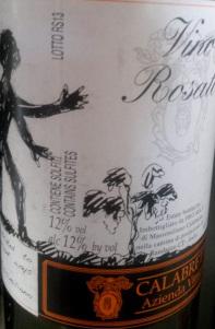 Vino Rosato Calabretta
