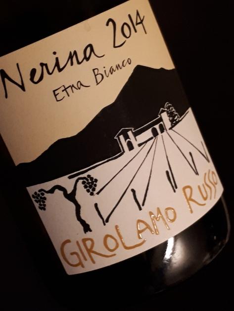 "Etna Bianco ""Nerina"" 2014 - Girolamo Russo"
