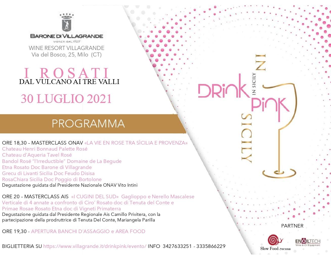 "Torna ""Drink Pink in Sicily"""